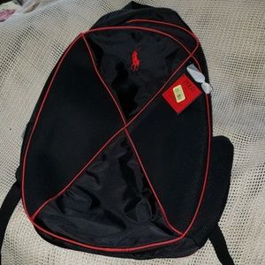 New Polo canvas Back pack..great gift